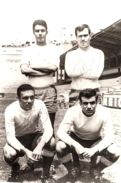 Guedes, Castellano, Germán y Tonono. | Fuente: www.laspalmas.incondicionales.com