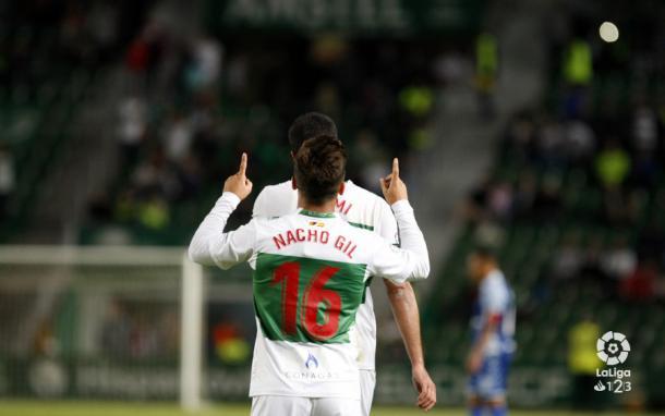 Gol de Nacho Gil | Fuente: La Liga