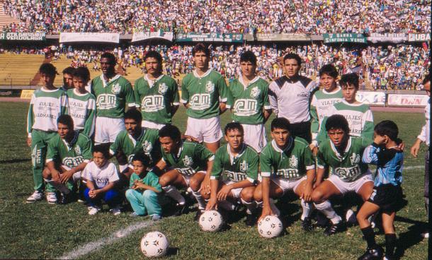 Atlético Nacional en la Copa Libertadores 1990 defendía su título.   Foto: Atlético Nacional