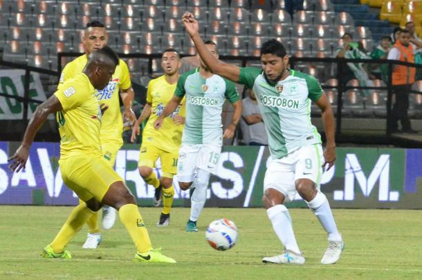 Ruiz le dio una mano a su equipo en el último encuentro | Foto: @nacionaloficial
