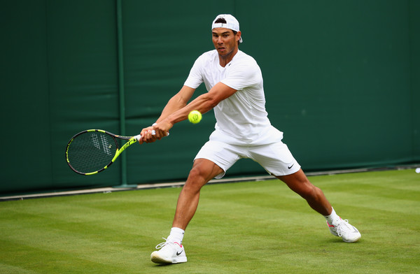 The two-time Wimbledon champion has a good draw to go far at SW19 (Photo by Clive Brunskill / Getty)