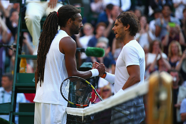 Brown put in an impressive display to overcome two-time champion Rafael Nadal last year (Photo: Getty Images/Ian Walton)