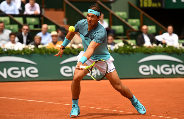 Nadal is looking to win a record-extending tenth title in Paris (Photo by Julian Finney / Getty)