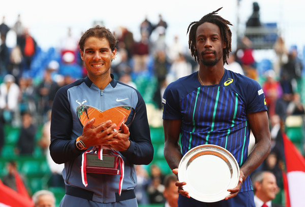 Nadal defeated Monfils in the Monte-Carlo masters (Photo: Getty Images/Michael Steele)