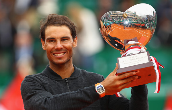 The Spaniard won his first title of 2017 in Monte Carlo (Photo by Clive Brunskill / Source: Getty)