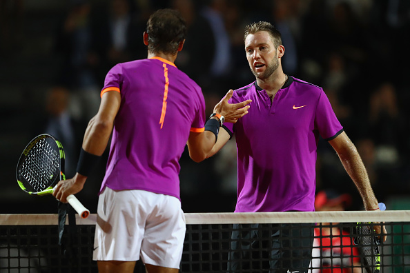 Sock played a sublime match but it wasn't enough to beat the Spaniard (Photo by Michael Steele / Getty Images)