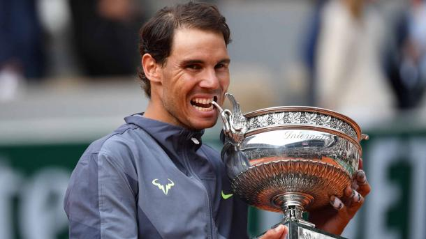 Nadal ytook home his 12th French Open title in June/Photo: Peter Staples