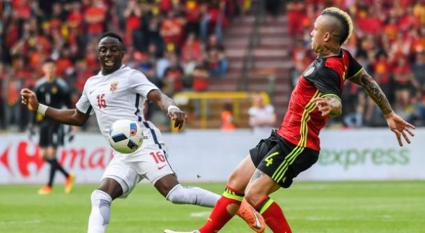 Radja Nainggolan, centrocampista di Roma e Belgio - Source GettyImages