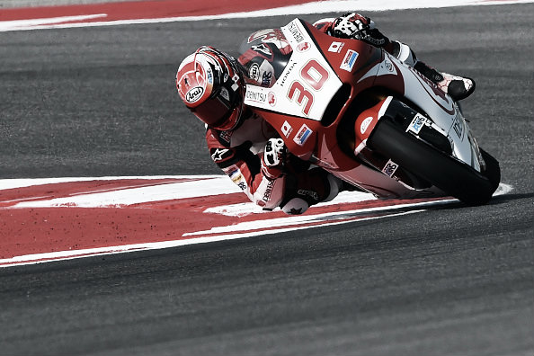 Nakagami has shown form and finished on the front row | Photo: Giuseppe Cacac/AFP/Getty Images