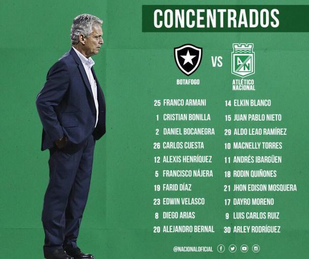 Atlético Nacional se despidió de la Libertadores