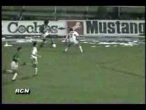 Nacional disputó su primera semifinal en la Supercopa del 93.   Foto: YouTube