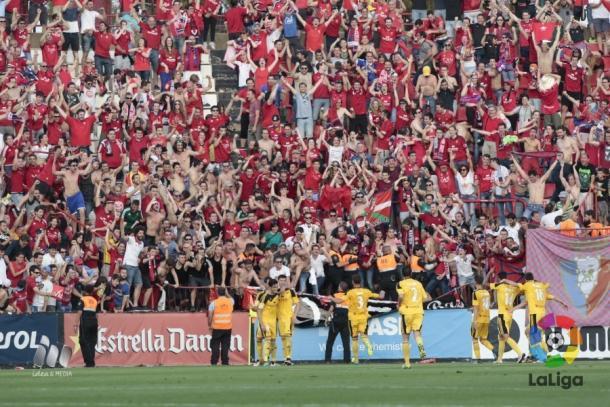 Osasuna espera a su rival en la final: Córdoba o Girona | Foto: LaLiga