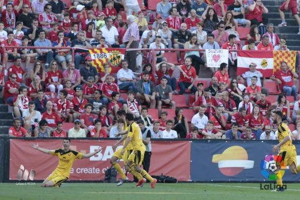 Osasuna consiguió controlar el partido y encontró el gol | Foto: LaLiga