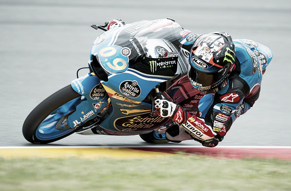 Navarro has returned to the Moto 3 class after breaking his leg | Photo: Getty