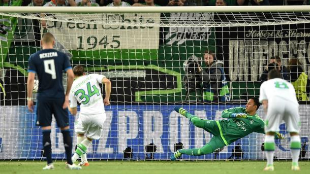 Keylor Navas ficou 738 minutos sem sofrer gols na competição (Foto: Getty Images)