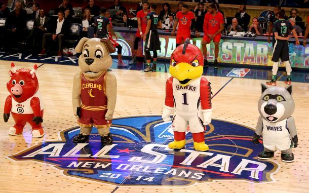 Mascotas NBA (Imagen: espn.go.com)
