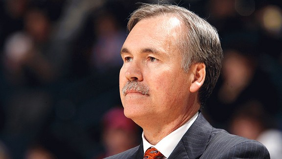 Mike D'Antoni has done a great job in turning the Houston Rockets around from a year ago. Photo: Rocky Widner/NBAE/Getty Images
