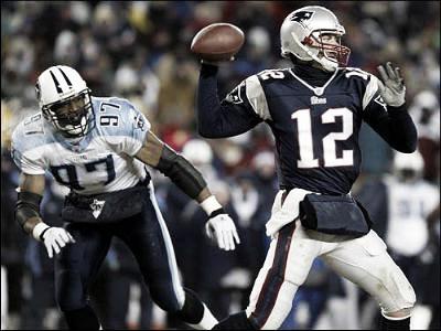 Brady tuvo una noche mágica ante Titans l Foto: New England Patriots
