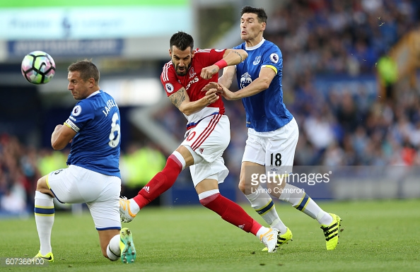 Alvaro Negredo has scored one goal this season for Middlesbrough | Photo: Lynne Cameron/Getty Images