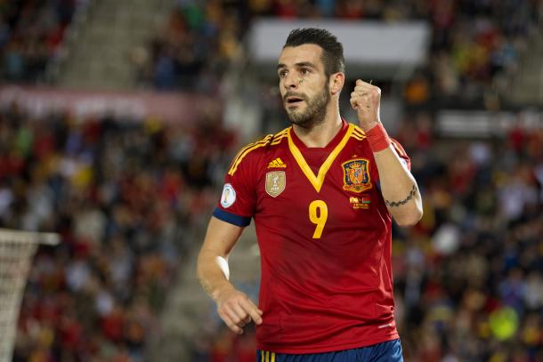 Álvaro Negredo boast an impressive record of 10 goals in 21 Spain appearances | Photo: Focus Images