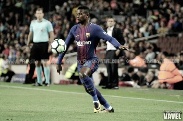 Nelson Semedo en el Camp Nou | Foto: Ernesto Ardilla, VAVEL