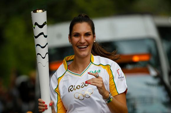 Natália, disputou os jogos Olímpicos de 2000. (
