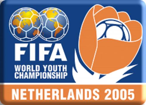 Logo Campeonato Mundial Juvenil de la FIFA Países Bajos 2005 IFoto: FIFA