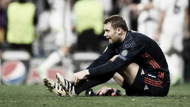 Neuer lesionado | Foto FCBayern.com