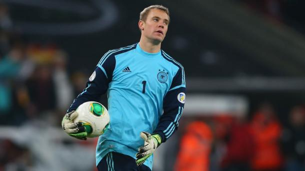 Manuel Neuer has 64 caps to his name for Germany (Source: DFB)