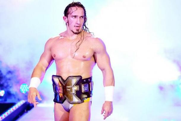 Would the former NXT Champion be a good fit for Joe? Photo:Pintrest