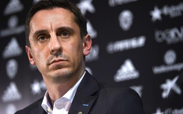 Gary Neville's Valencia stint was short | Photo: Getty images
