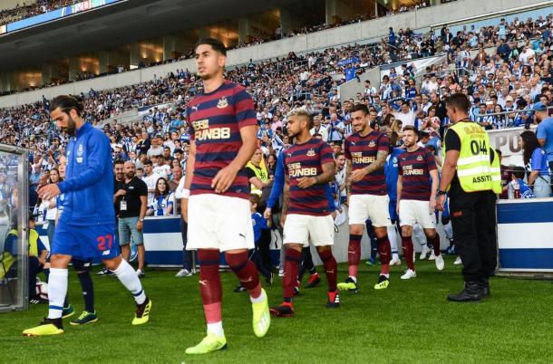 La pretemporada no ha sido la más fructífera en cuanto a resultados para el Newcastle | Foto: NUFC