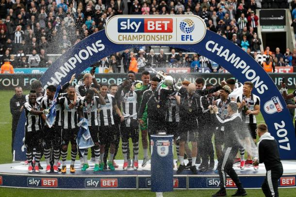Newcastle campeon de la Championship 2017! Foto: Newcastle