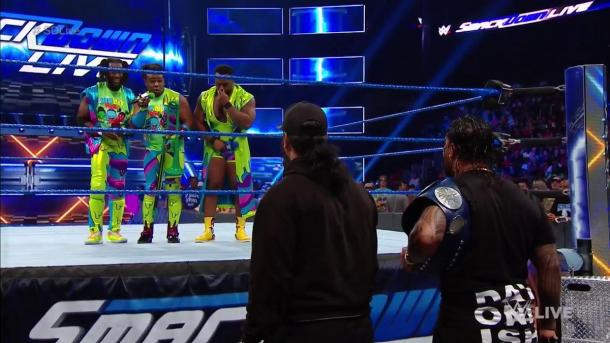 The Usos have defended their tag-team titles in the squared circle against The New Day on two occasions (image: f4wonline)
