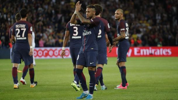Neymar Jr. no consiguió marcar, pero volvió a dar sentido al juego colectivo parisino. | FOTO: PSG.fr