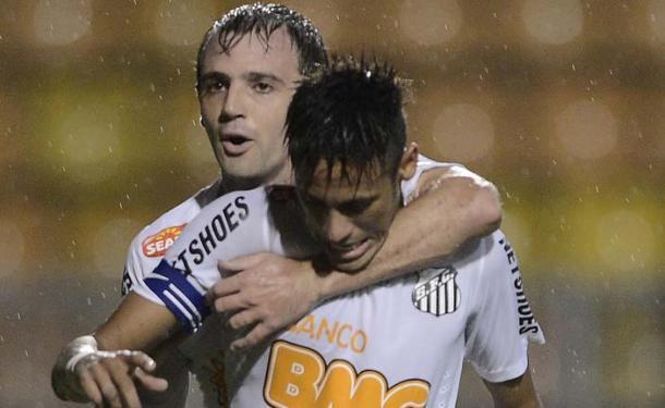 Montillo fue compañero de Neymar en Santos (Foto: