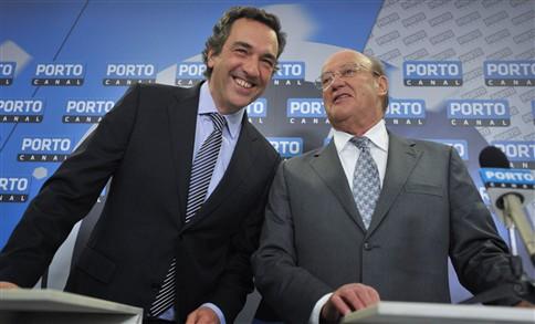 Júlio Magalhães e Pinto da Costa. (Fonte: JN)