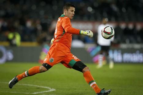 Marcelo Boeck no Sporting. | Photo: ojogo.pt