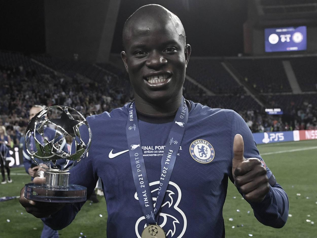 Kanté continúa mostrando que es uno de los mejores | Foto: UEFA