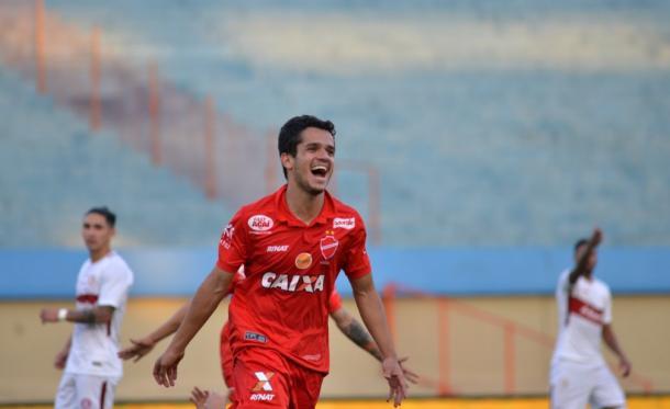 Alípio foi um dos destaques do Vila na Série B | Foto: Divulgação/Vila Nova