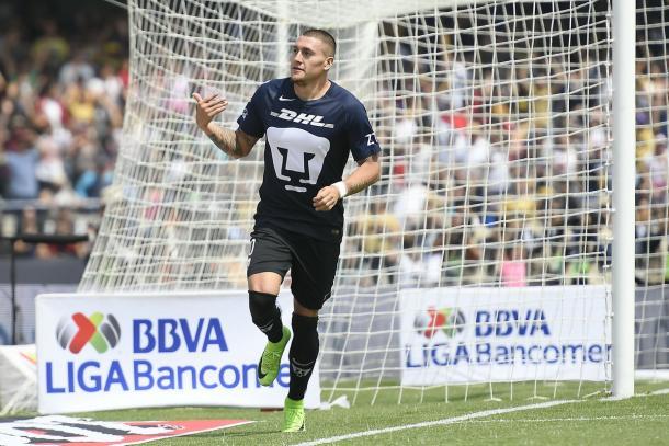 Rabello jugó en empate de Pumas ante Celaya por la Copa MX