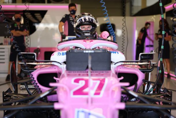Hulkenberg na Racing Point (Foto: Divulgação/Racing Point)