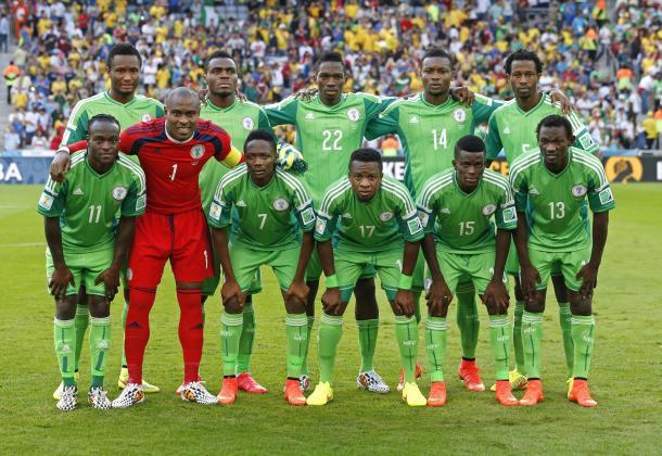 Selección Nacional de Nigeria, Mundial 2014. Foto: Getty Images