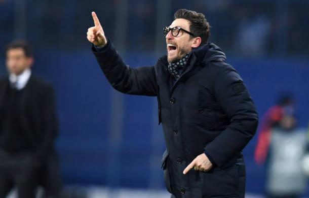 Di Francesco pões confiança em seus jogadores na decisão (Sergei Supinsky/GettyImages)