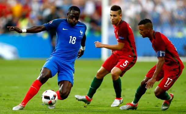 Sissoko in action for France in the Euro 2016 final | Photo: Getty
