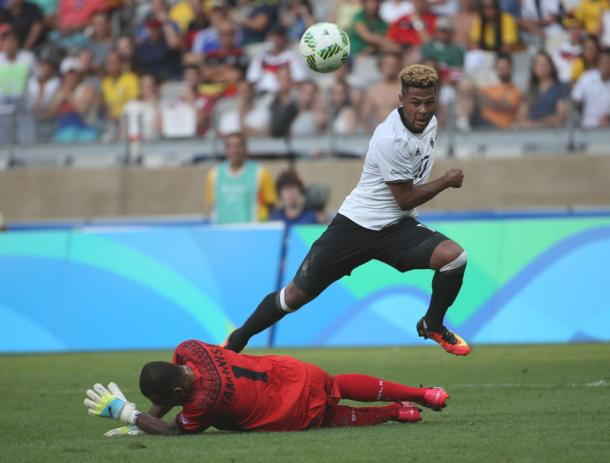 Serge Gnabry has impressed at the Olympics. | Photo: AP