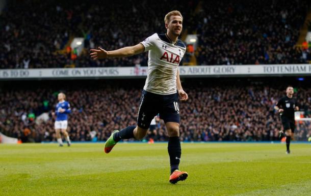 Harry Kane, uno de los jugadores más claves del Tottenham. Fuente: Spurs