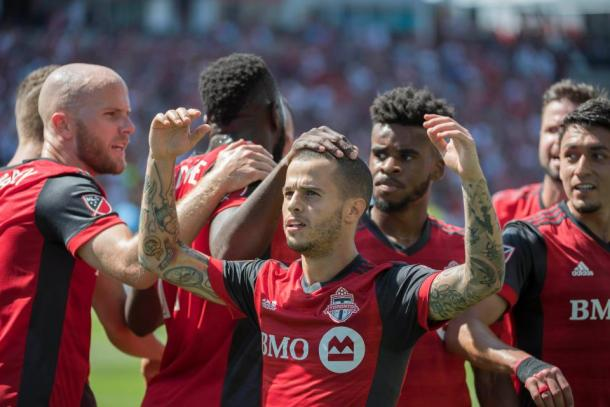 Sebastian Giovinco is in red-hot form right now | Source: Nick Turchiaro-USA TODAY Sports