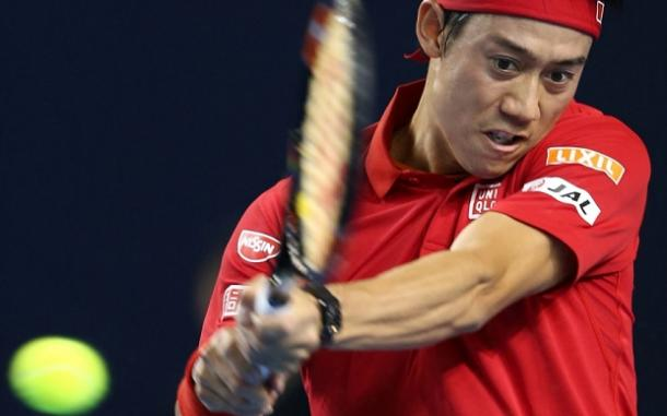 A terrific fightback from the Japanese number one Kei Nishikori / Photo: Getty Images