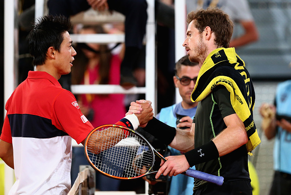 Murray taking on Nishikori will be the highlight of the tie (Photo: Getty Images/Clive Brunskill)